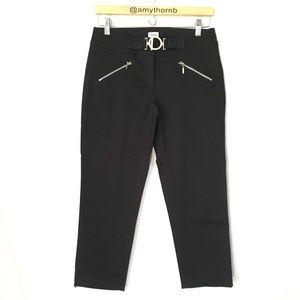 Cache Black Cropped Pants